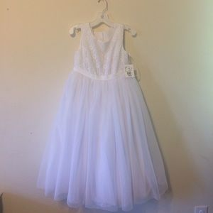 David's Bridal Flower Girl Dress Size 10